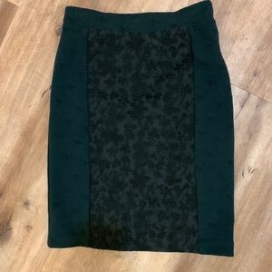 Anthropologie Moulinette Sears Green Skirt Size 0